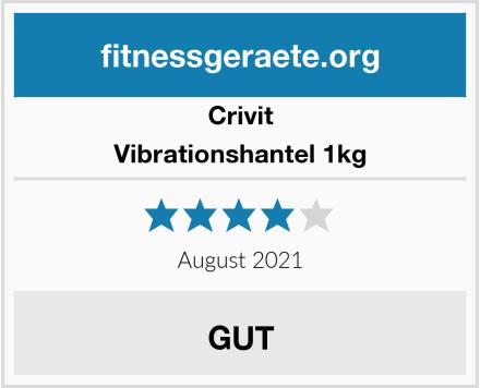 Crivit Vibrationshantel 1kg Test