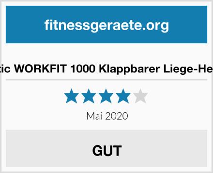 Exerpeutic WORKFIT 1000 Klappbarer Liege-Heimtrainer Test