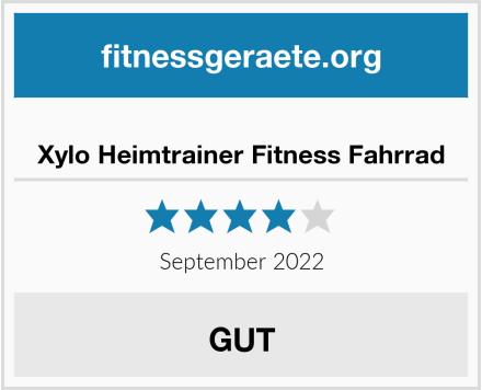 Xylo Heimtrainer Fitness Fahrrad Test
