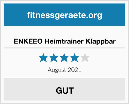 ENKEEO Heimtrainer Klappbar Test