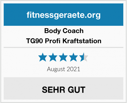 Body Coach TG90 Profi Kraftstation Test