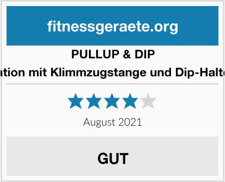 PULLUP & DIP Kraftstation mit Klimmzugstange und Dip-Halterungen Test