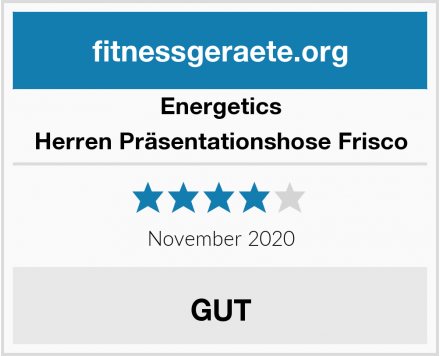 Energetics Herren Präsentationshose Frisco Test