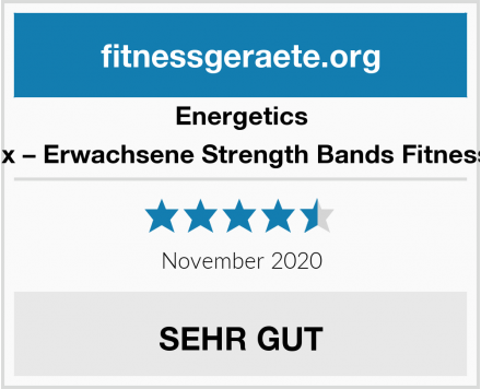 Energetics Unisex – Erwachsene Strength Bands Fitnessband Test
