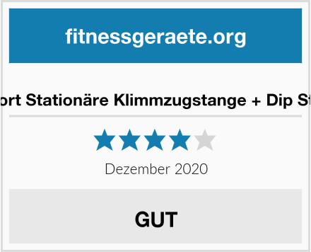K-Sport Stationäre Klimmzugstange + Dip Station Test