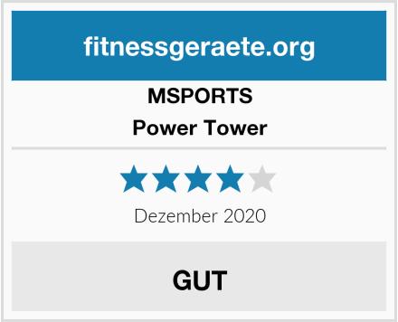 MSPORTS Power Tower Test