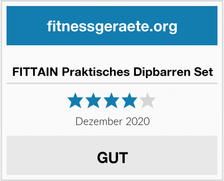 FITTAIN Praktisches Dipbarren Set Test