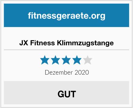 JX Fitness Klimmzugstange Test