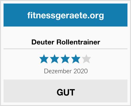 Deuter Rollentrainer Test