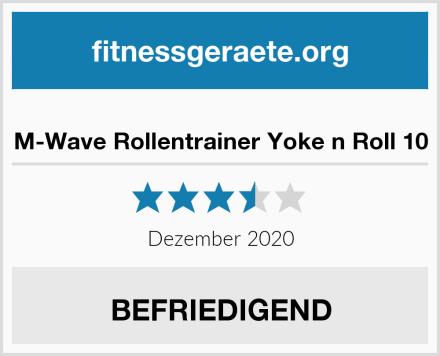 M-Wave Rollentrainer Yoke n Roll 10 Test