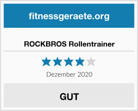 ROCKBROS Rollentrainer Test