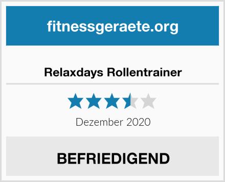 Relaxdays Rollentrainer Test