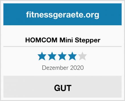 HOMCOM Mini Stepper Test