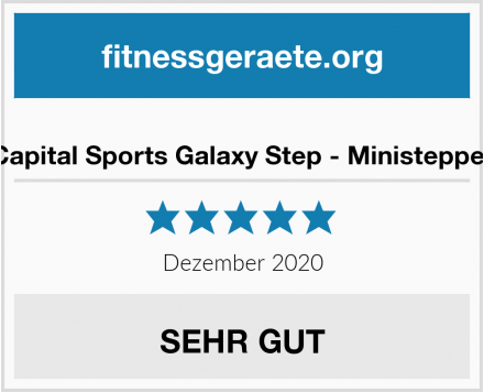 Capital Sports Galaxy Step - Ministepper Test