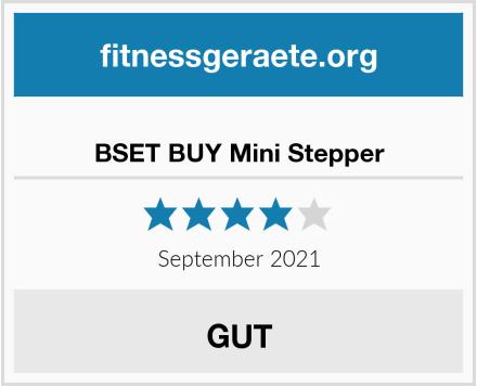 BSET BUY Mini Stepper Test
