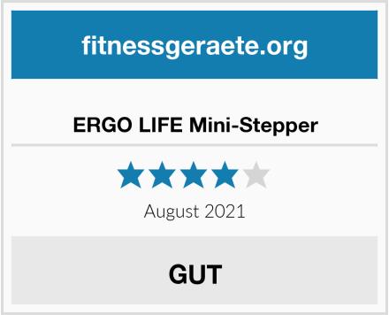 ERGO LIFE Mini-Stepper Test