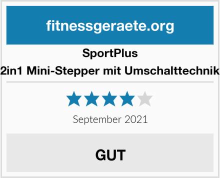 SportPlus 2in1 Mini-Stepper Test