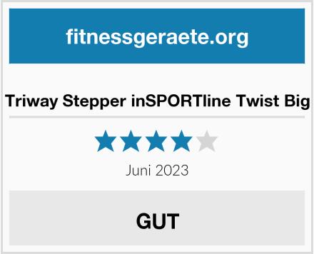 Triway Stepper inSPORTline Twist Big Test