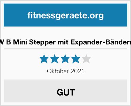 W B Mini Stepper mit Expander-Bändern Test