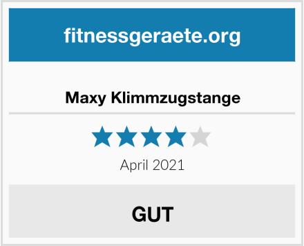 Maxy Klimmzugstange Test