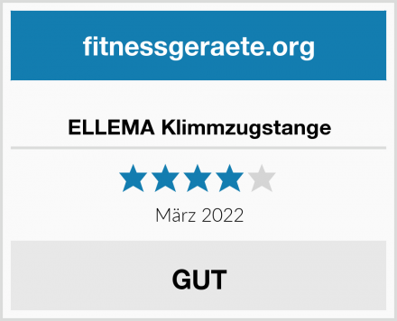 ELLEMA Klimmzugstange Test