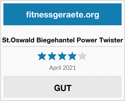 St.Oswald Biegehantel Power Twister Test