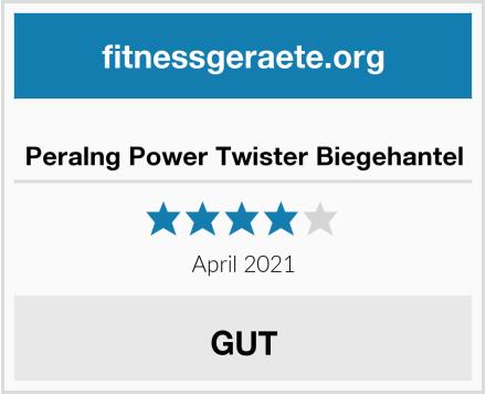 Peralng Power Twister Biegehantel Test