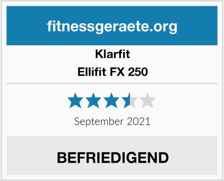 Klarfit Ellifit FX 250 Test