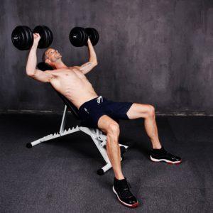 Fitnessbänke