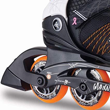 k2 damen inline skates alexis 80 fitnessger te test 2019. Black Bedroom Furniture Sets. Home Design Ideas