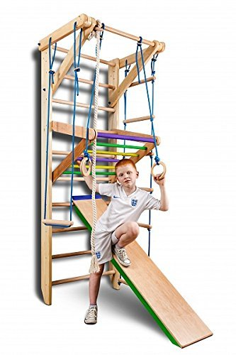 KindSport Gym Sport-3-220-Farbe Klettergerüst