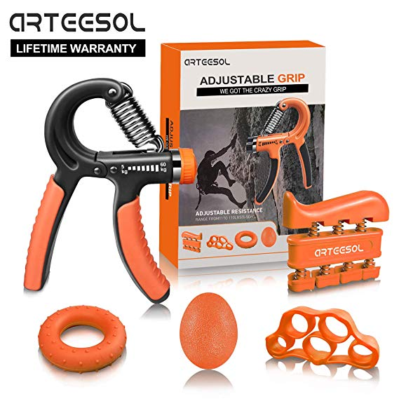 Arteesol Handtrainer Fingertrainer Set