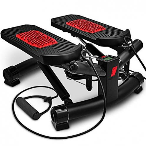 Sportstech 2in1 Twister Stepper mit Power Ropes - STX300 Modell 2019