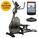 Skandika Fitness Crosstrainer Elliptical Carbon Pro Advance