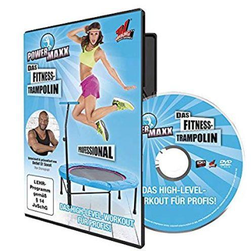 TV Das Original Trainings DVD Power Maxx Fitness Trampolin Professional