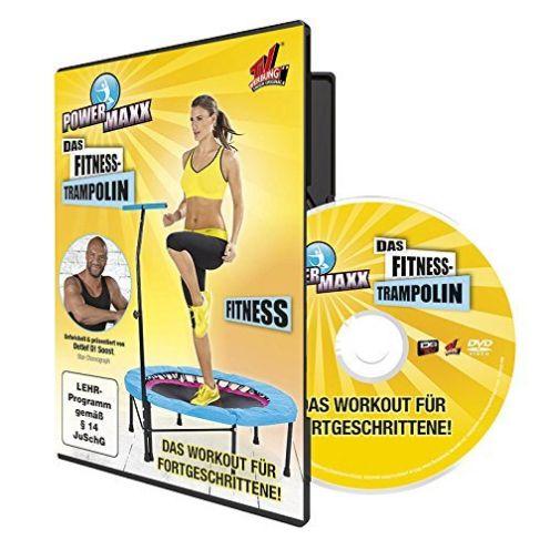 TV Das Original Trainings DVD Power Maxx Trampolin Fitness