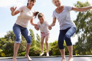 Ist ein Trampolin für die ganze Familie sinnvoll?